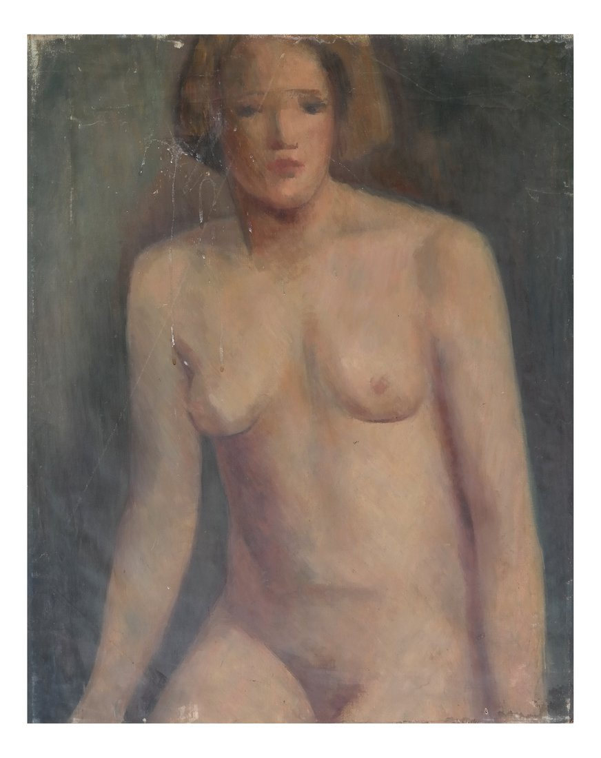 Oil on Canvas, Nude