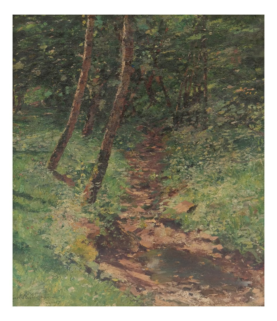 Carl Tapiou, Woodland Landscape
