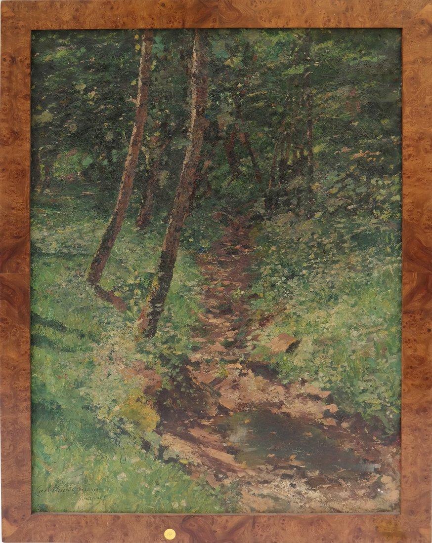 Carl Tapiou, Woodland Landscape - 2