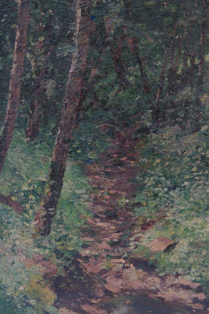 Carl Tapiou, Woodland Landscape - 3