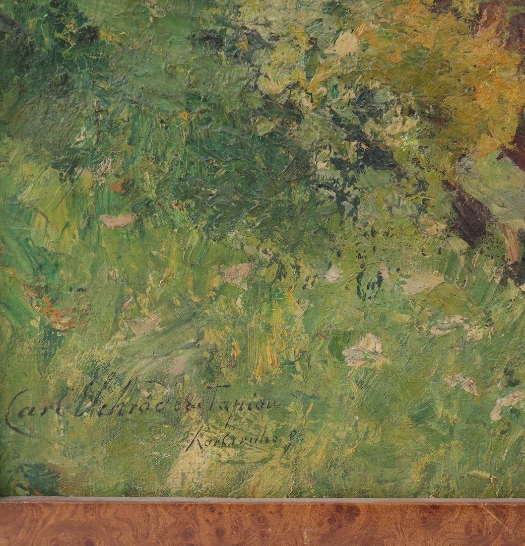 Carl Tapiou, Woodland Landscape - 4