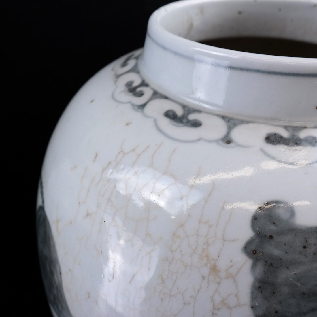 2 Chinese Porcelain Covered Temple Jars - 8