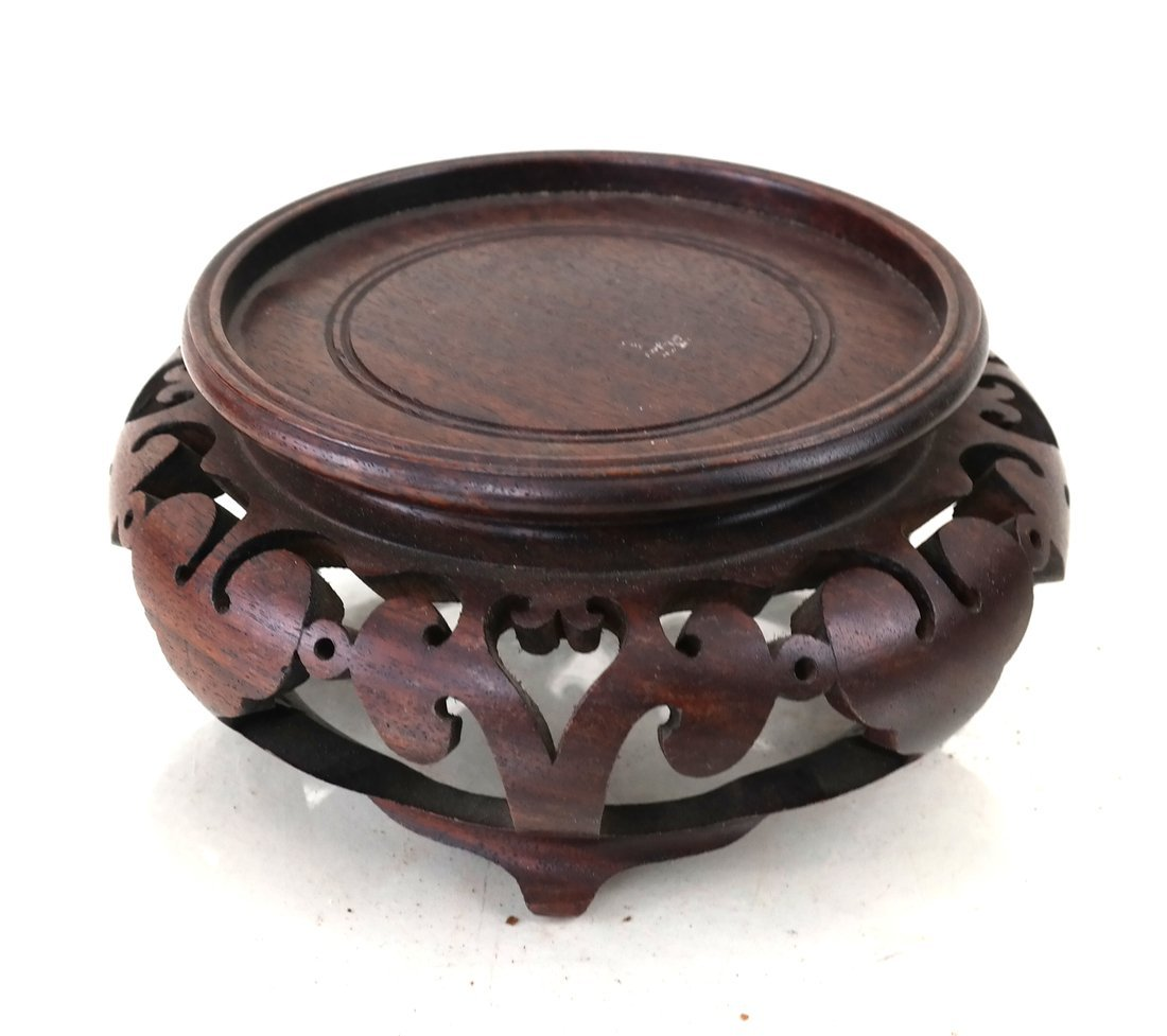 Chinese Imari Porcelain Bowl & a Stand - 5