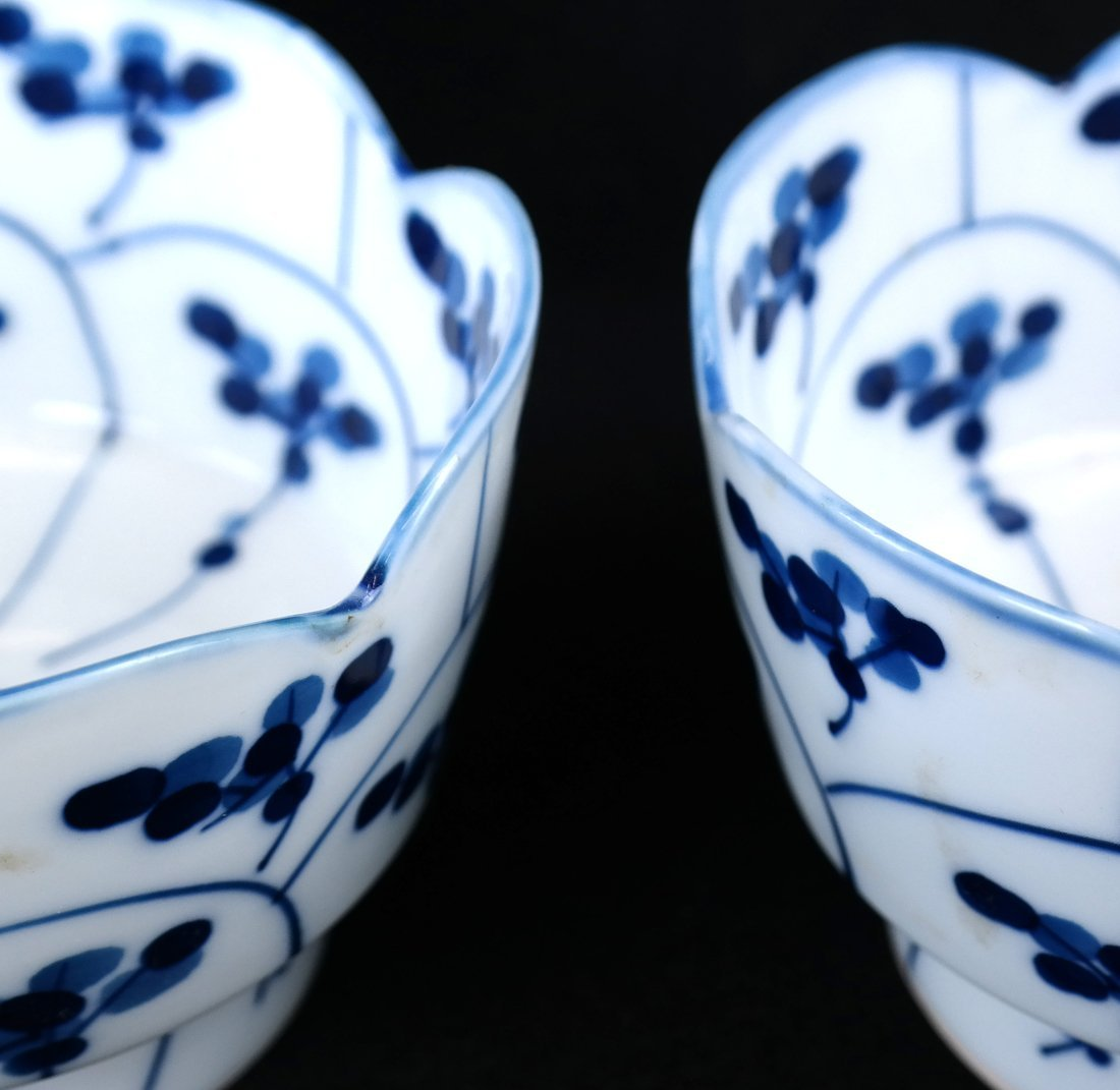 Pair of Blue and White Bowls - 2