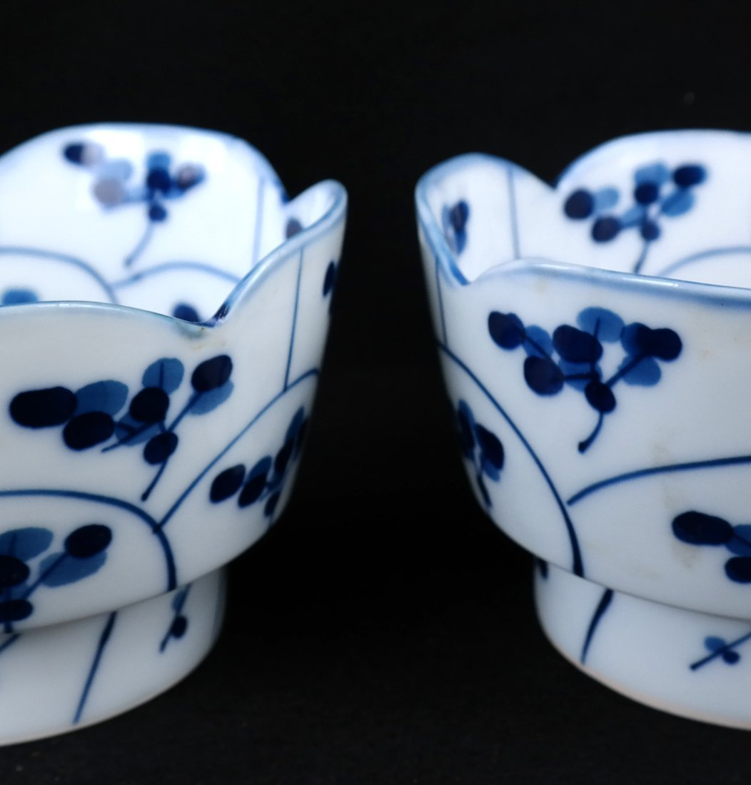 Pair of Blue and White Bowls - 4