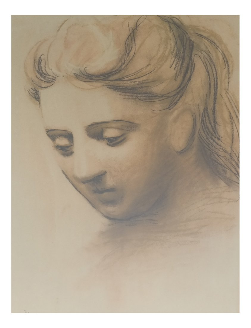 Picasso Print, Woman's Face