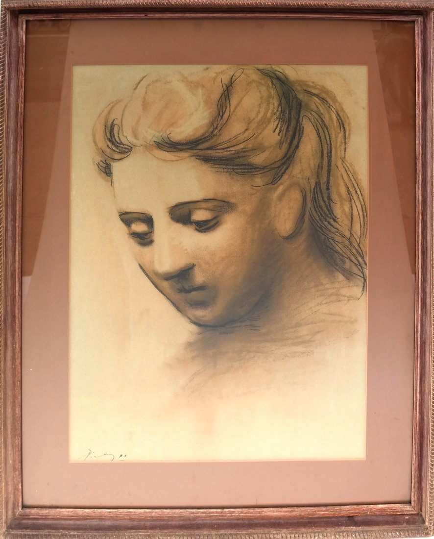 Picasso Print, Woman's Face - 2