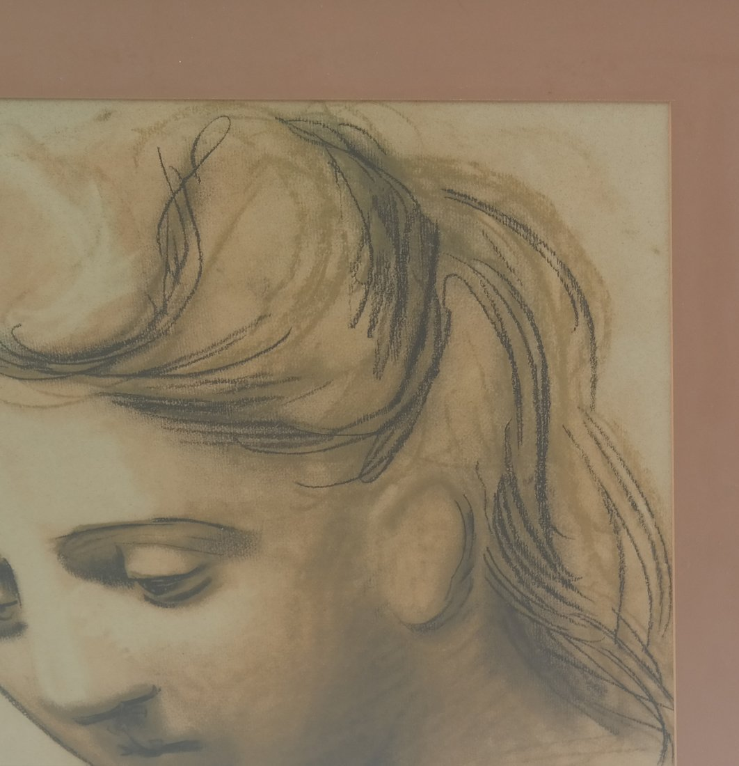 Picasso Print, Woman's Face - 5