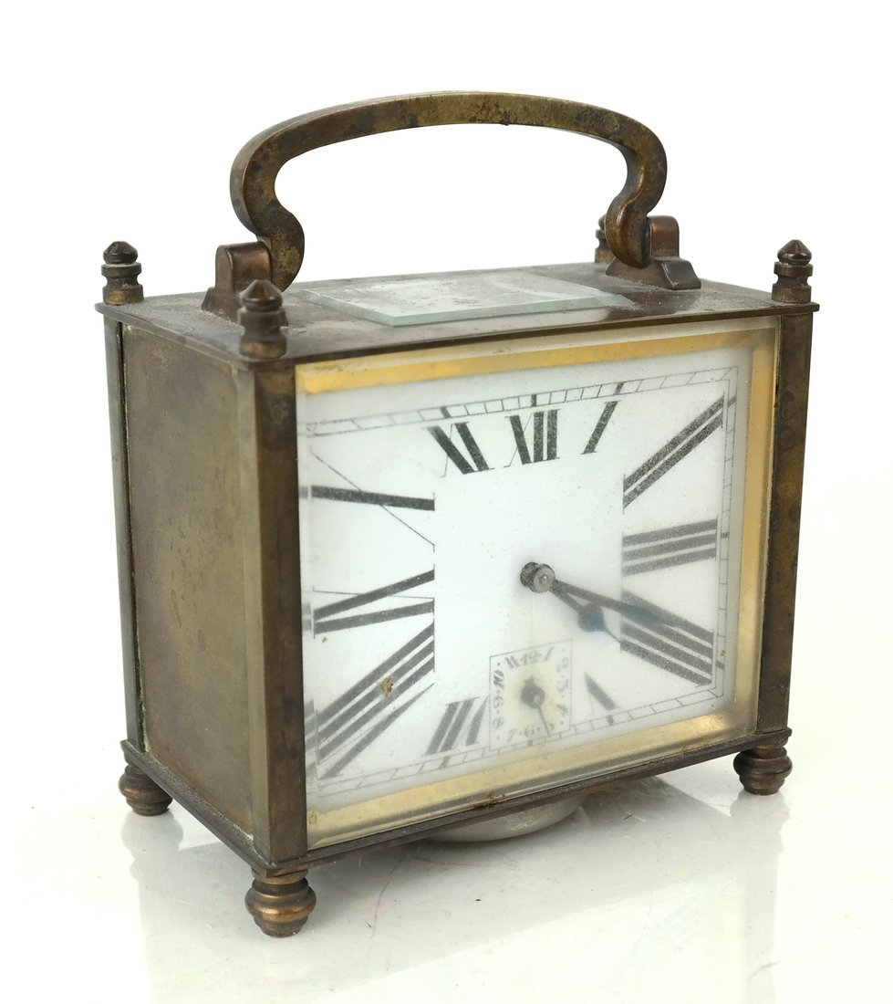 Art Deco-Style Miniature Desk Clock