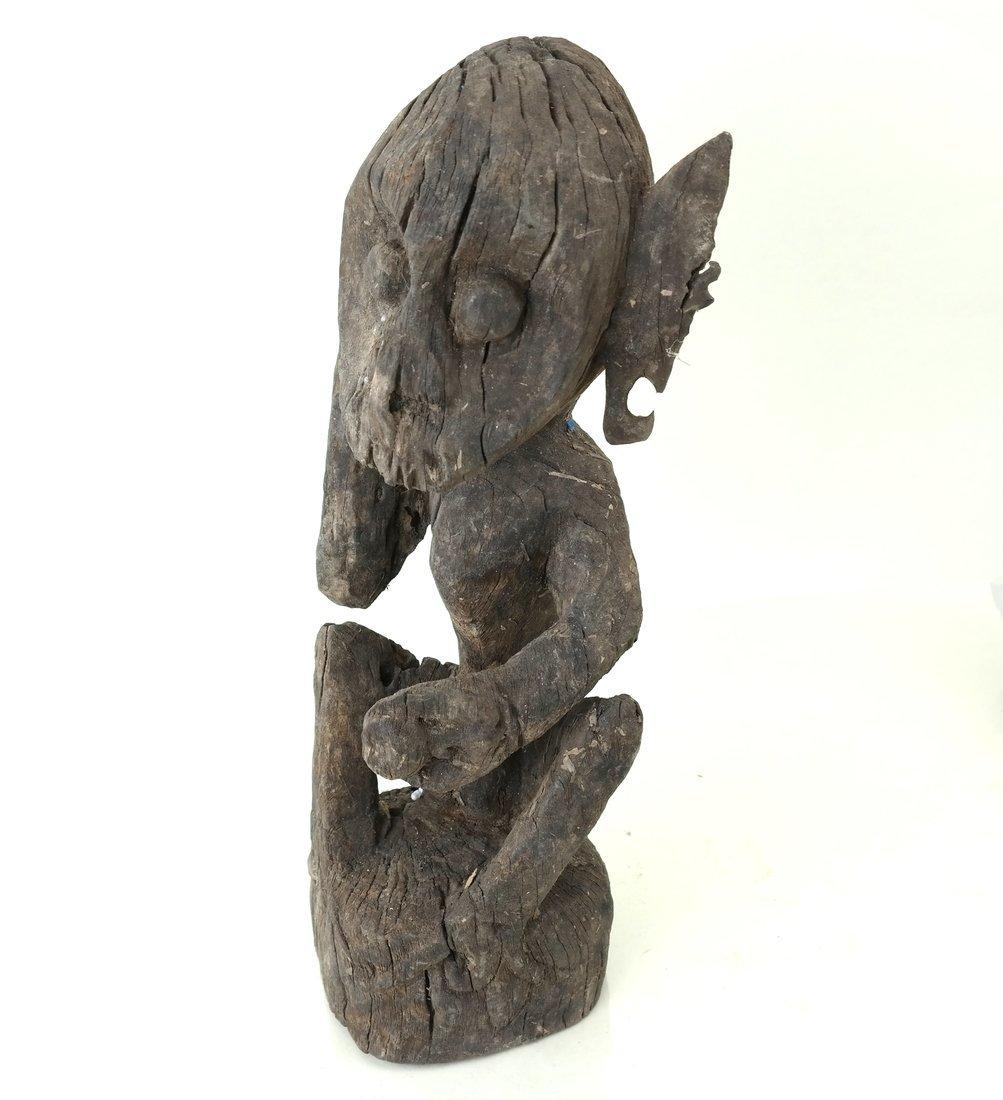 Ethnic Wood Carved Sculpture