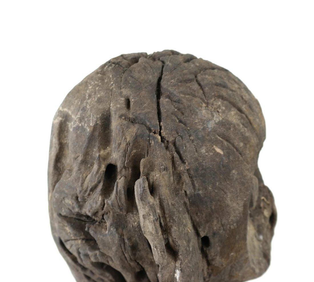Ethnic Wood Carved Sculpture - 6