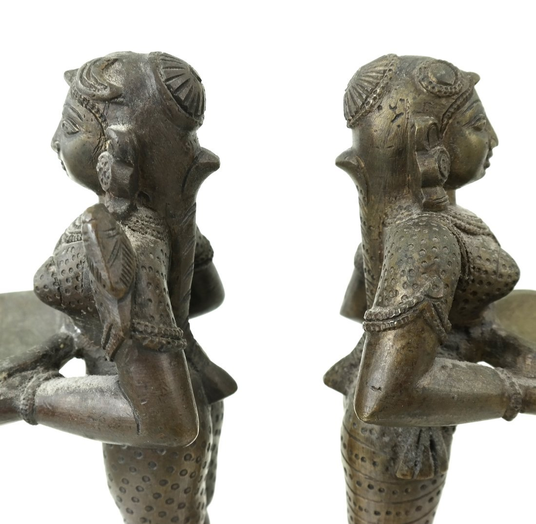 Pair of Figural Card Holders - 5