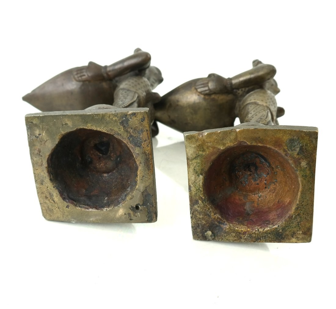 Pair of Figural Card Holders - 6