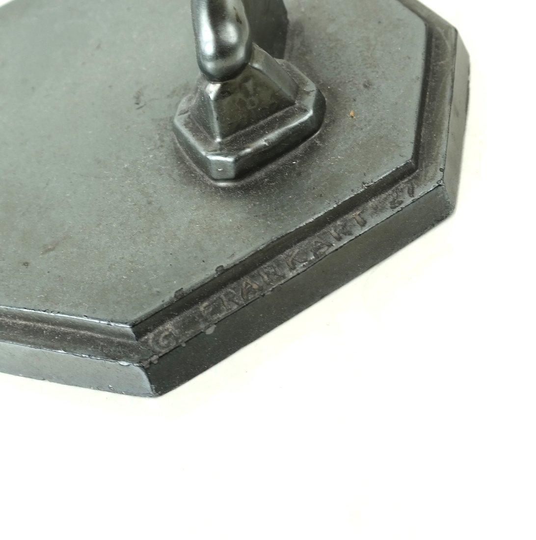 Frankart Deco Figural Card Holder - 5