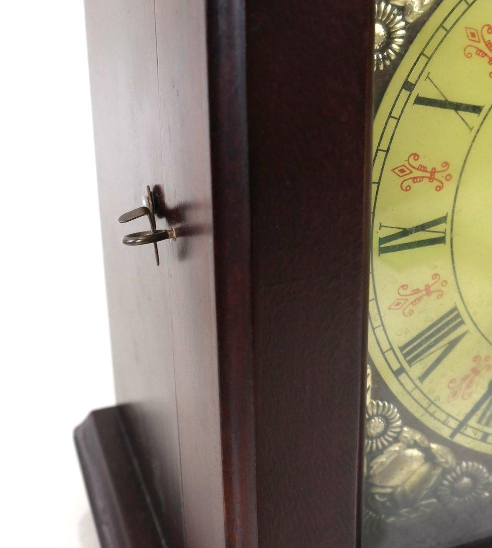 Japanese Wood Mantle Clock - 3
