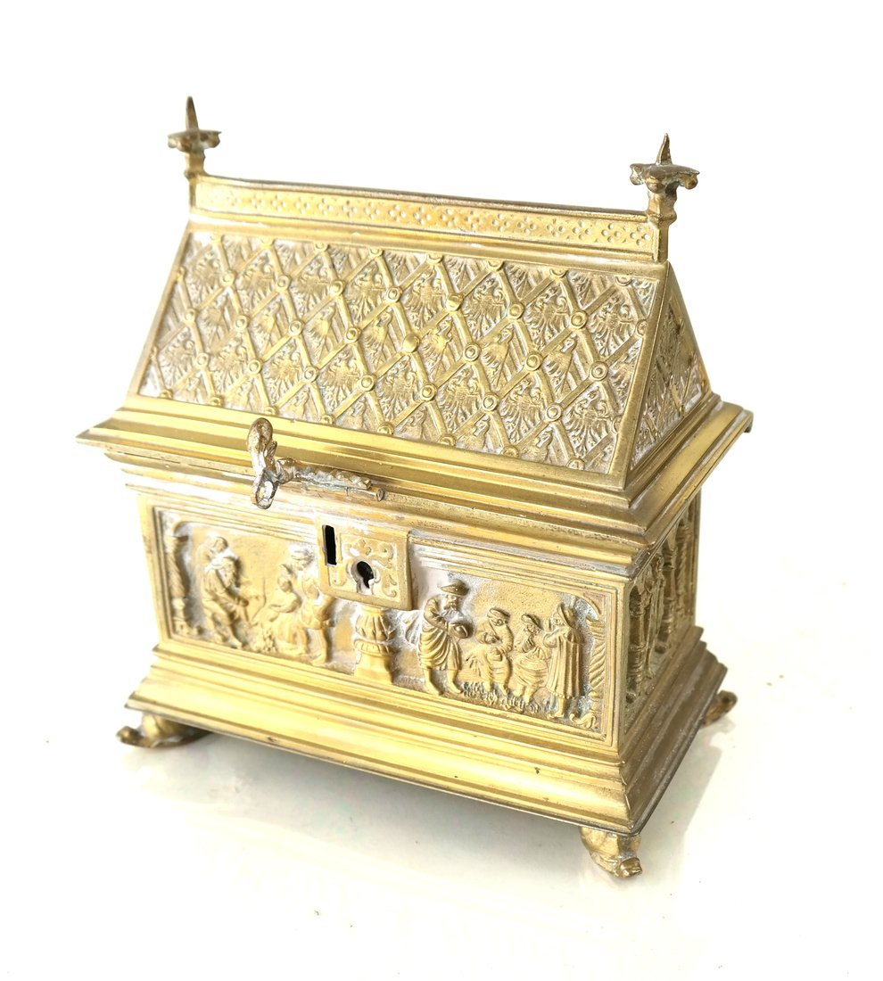 Ornate Casket Form Box