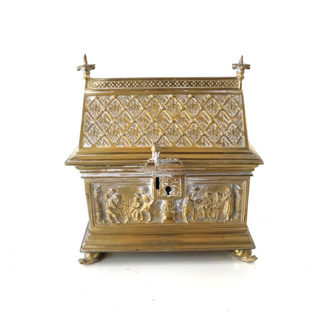 Ornate Casket Form Box - 2