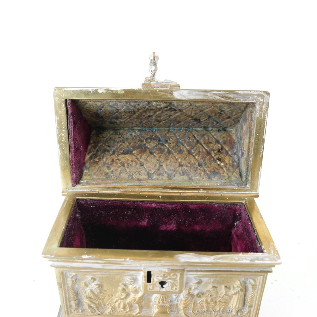 Ornate Casket Form Box - 3