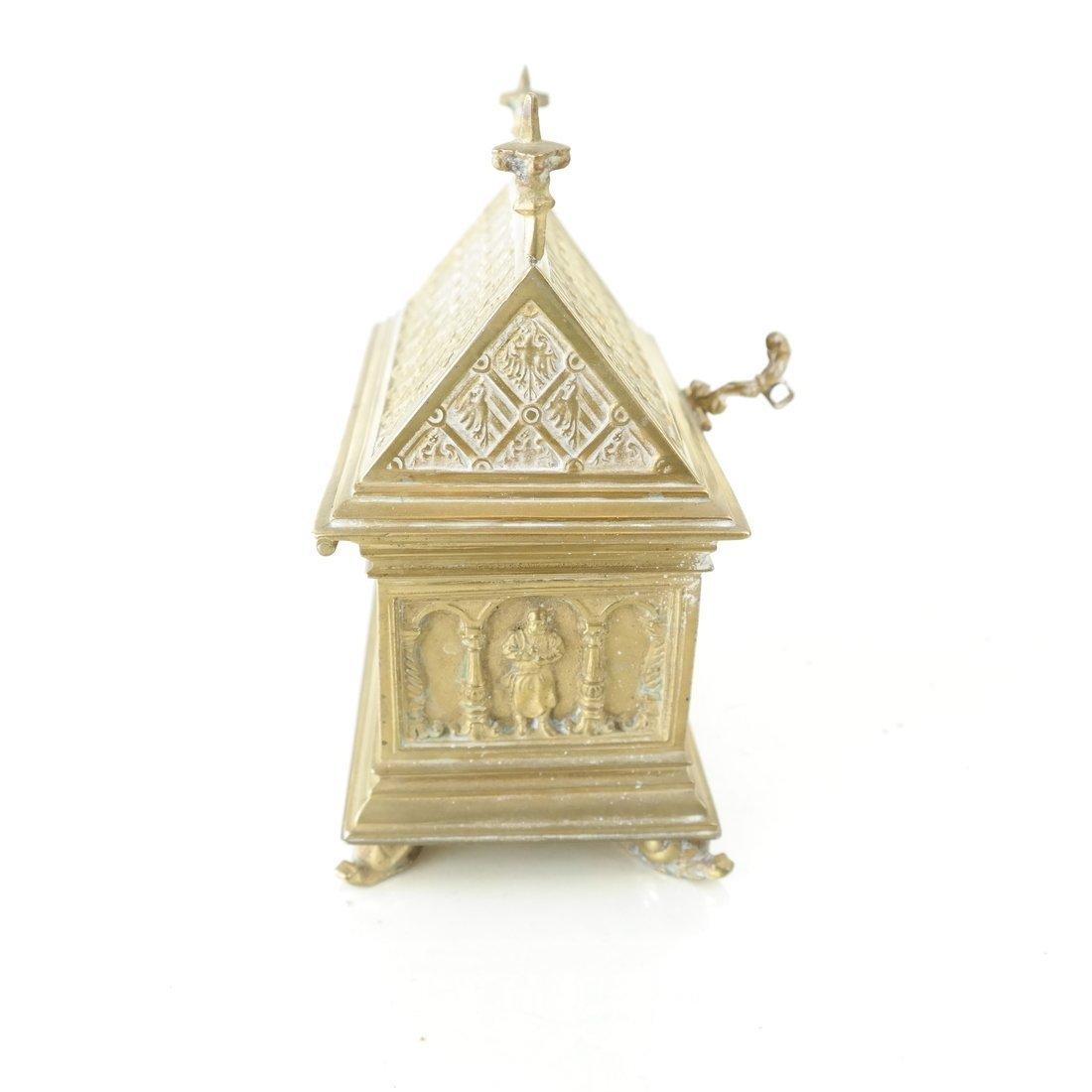 Ornate Casket Form Box - 4