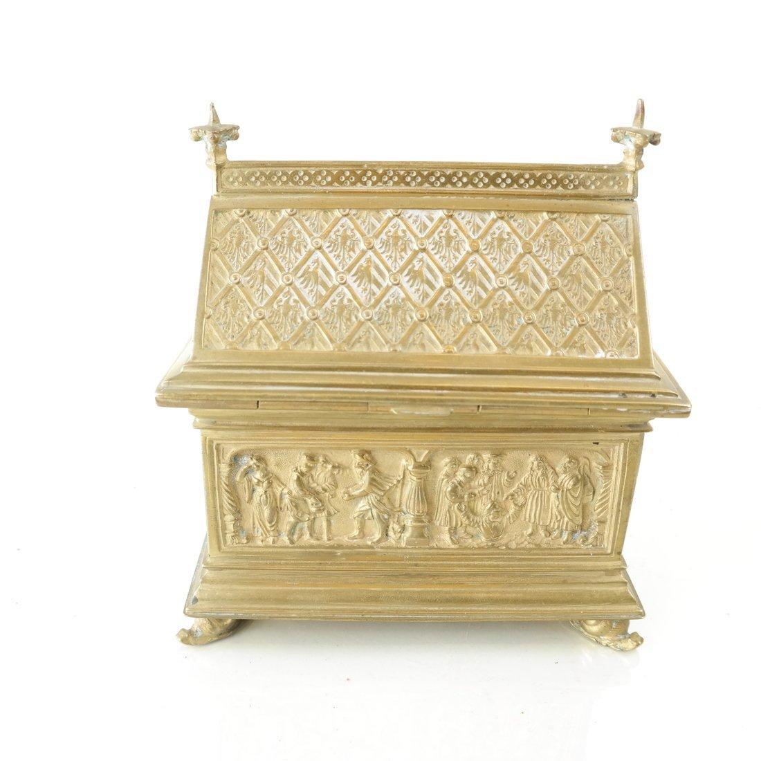 Ornate Casket Form Box - 5