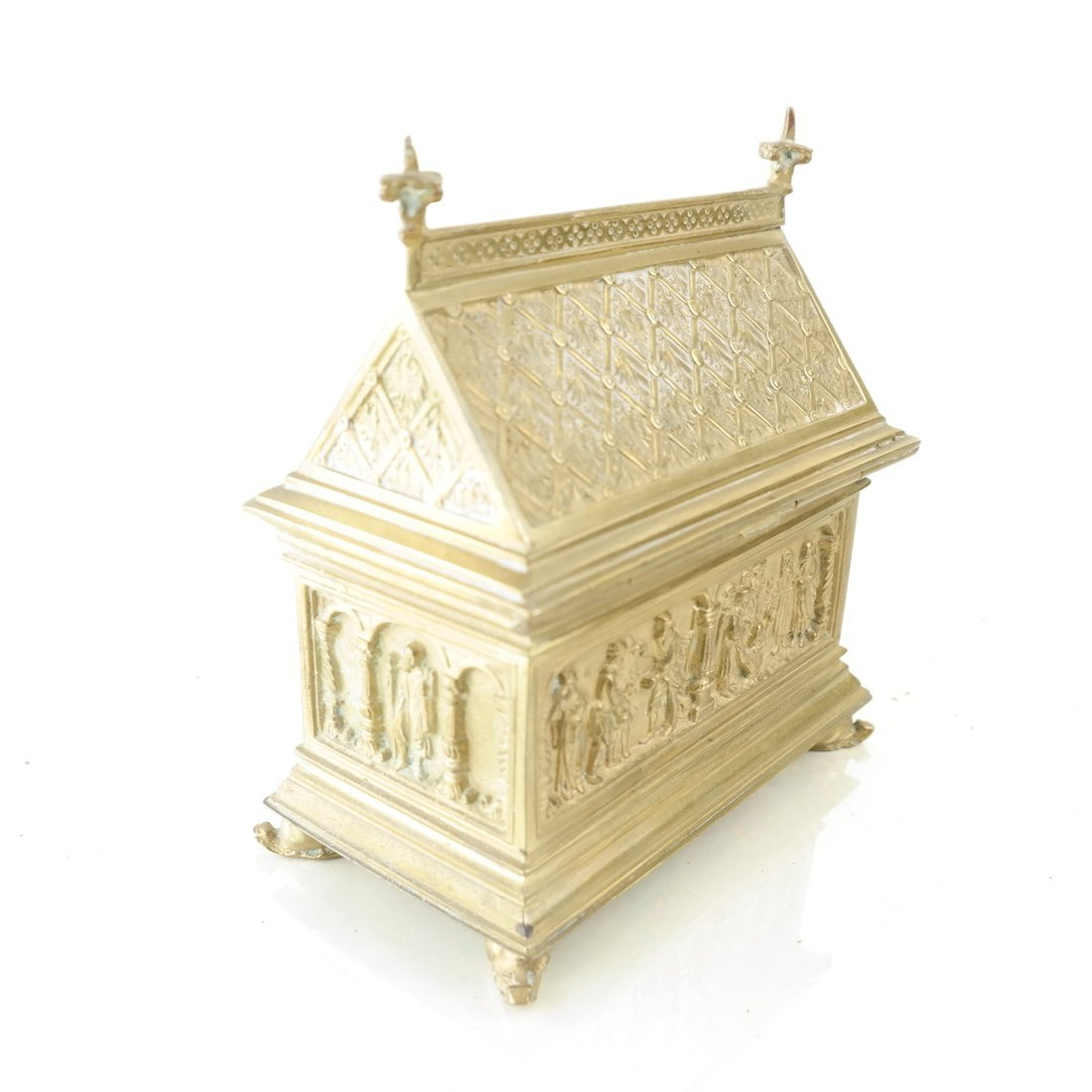 Ornate Casket Form Box - 6