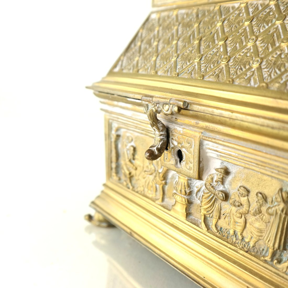 Ornate Casket Form Box - 9