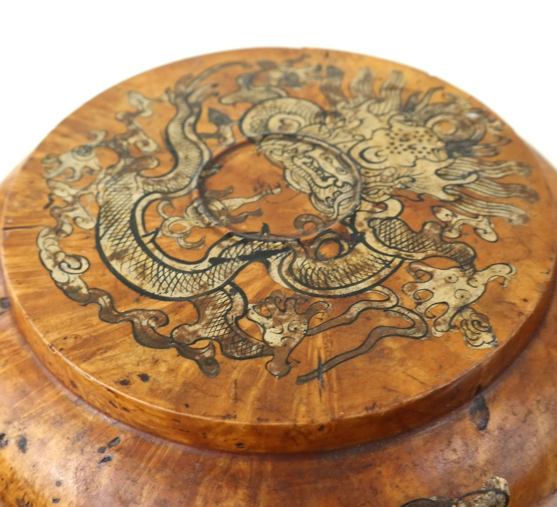 Two Asian Wood Boxes - 6