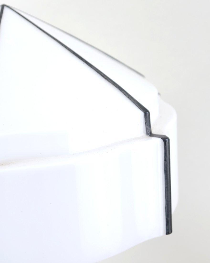 Modern Open-Work Chrome Lamp - 4
