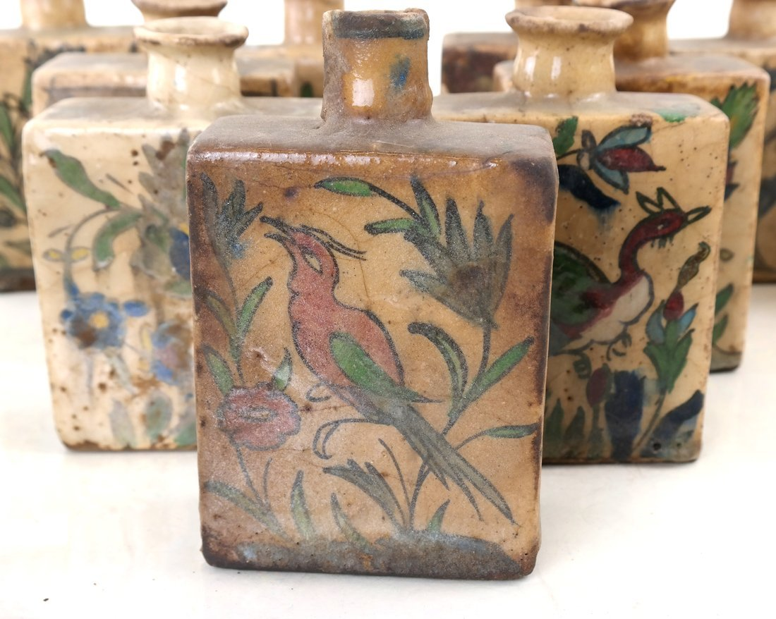 Ten Ceramic Decorated Canisters - 3