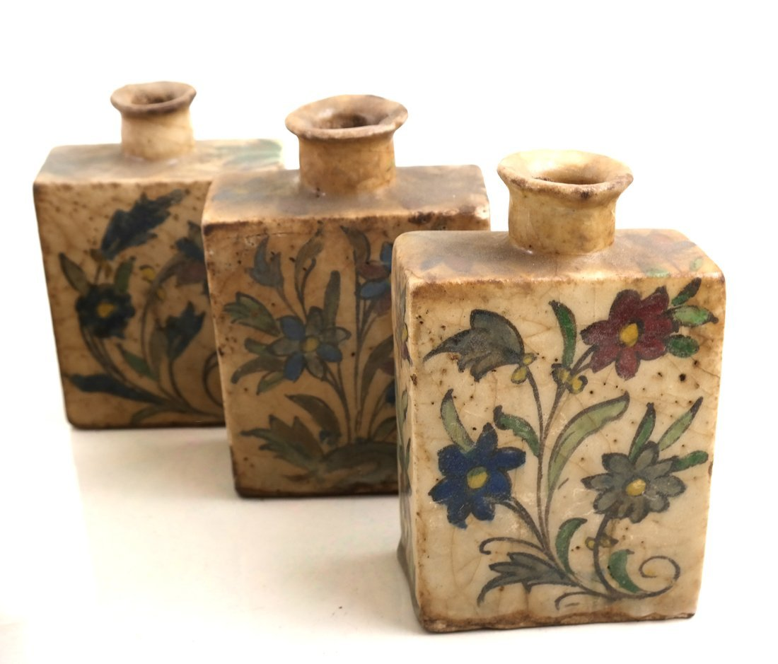 Ten Ceramic Decorated Canisters - 4