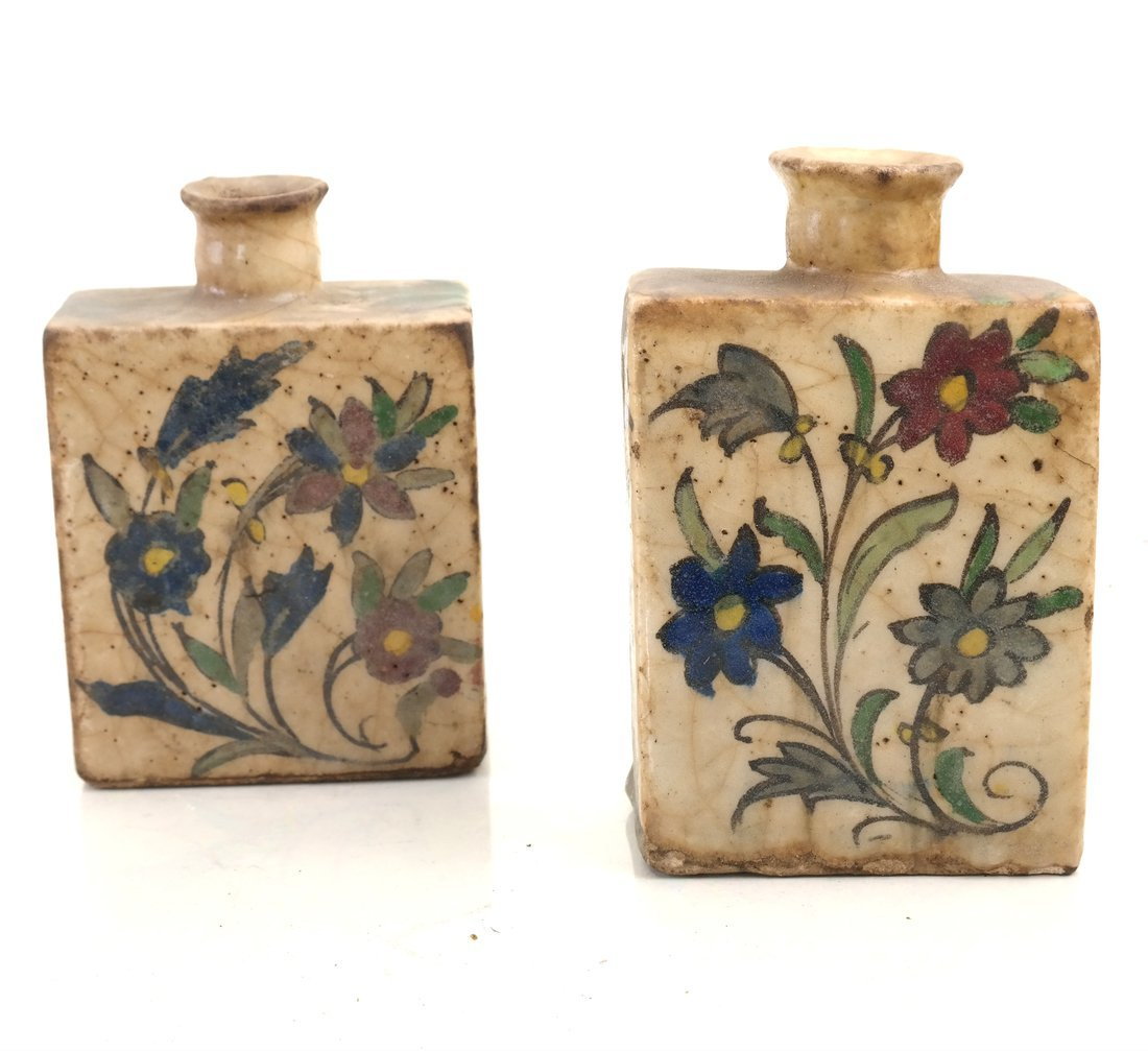 Ten Ceramic Decorated Canisters - 7