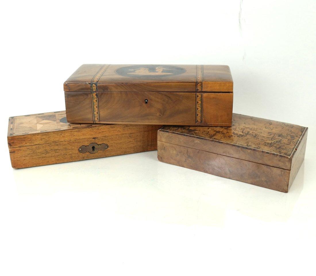 Three Wood Caddies