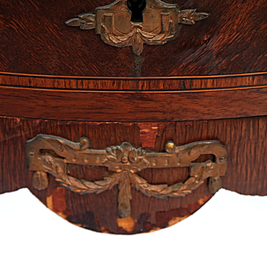 Pair Louis XV-Style Marble Top Commodes - 7