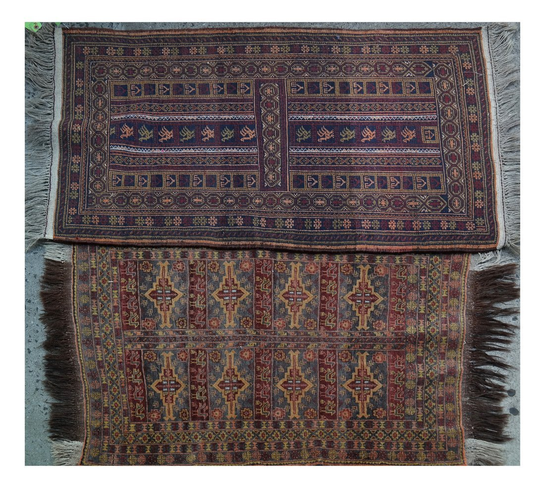 Two Handwoven Rugs