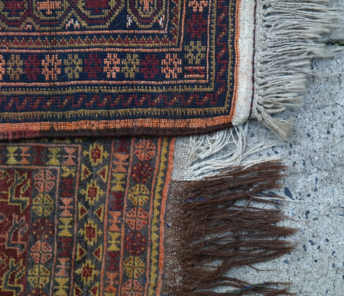 Two Handwoven Rugs - 4