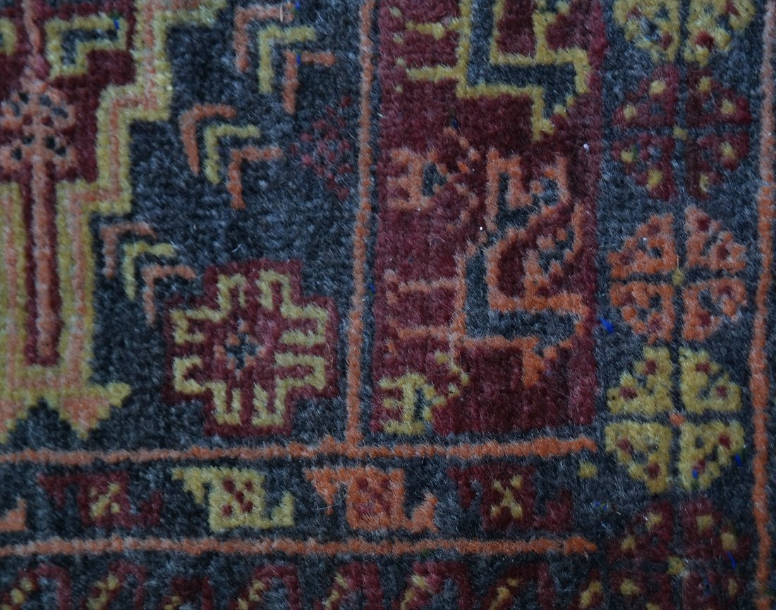 Two Handwoven Rugs - 6