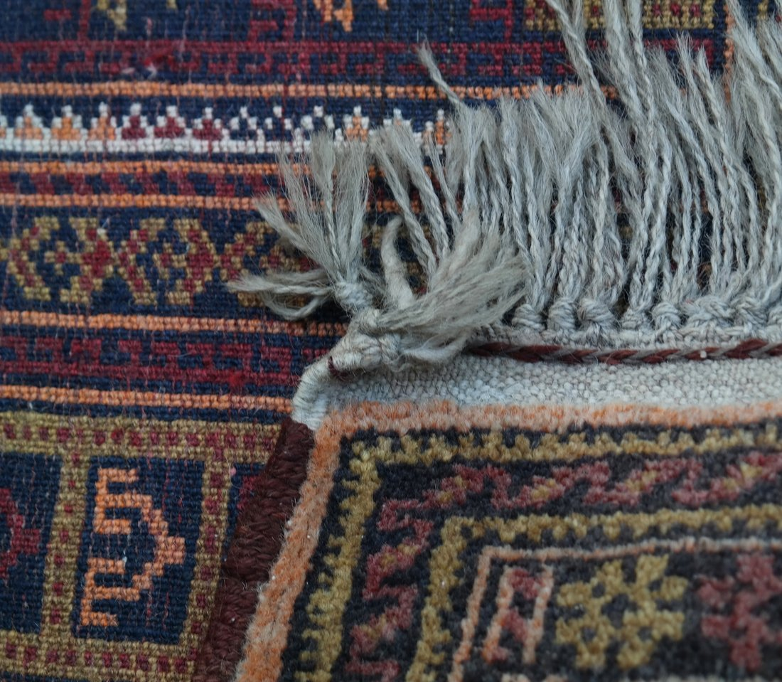 Two Handwoven Rugs - 8