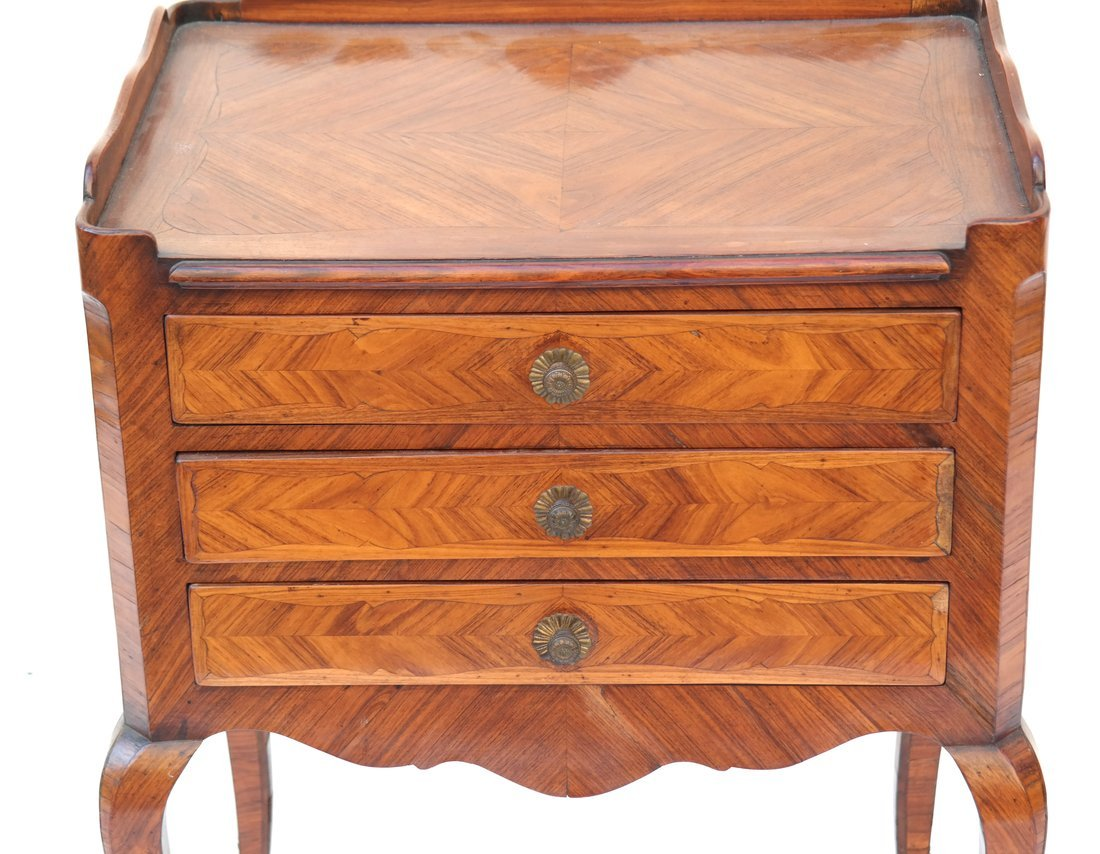 Louis XV-Style Three-Drawer Stand - 2
