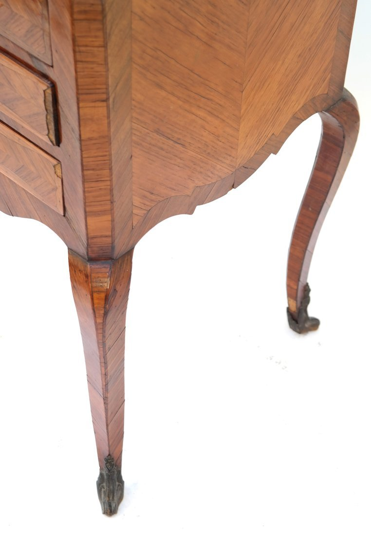 Louis XV-Style Three-Drawer Stand - 5