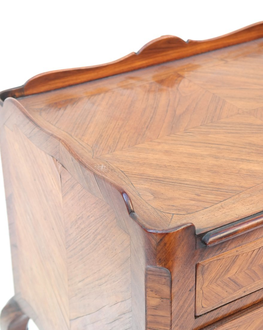 Louis XV-Style Three-Drawer Stand - 6