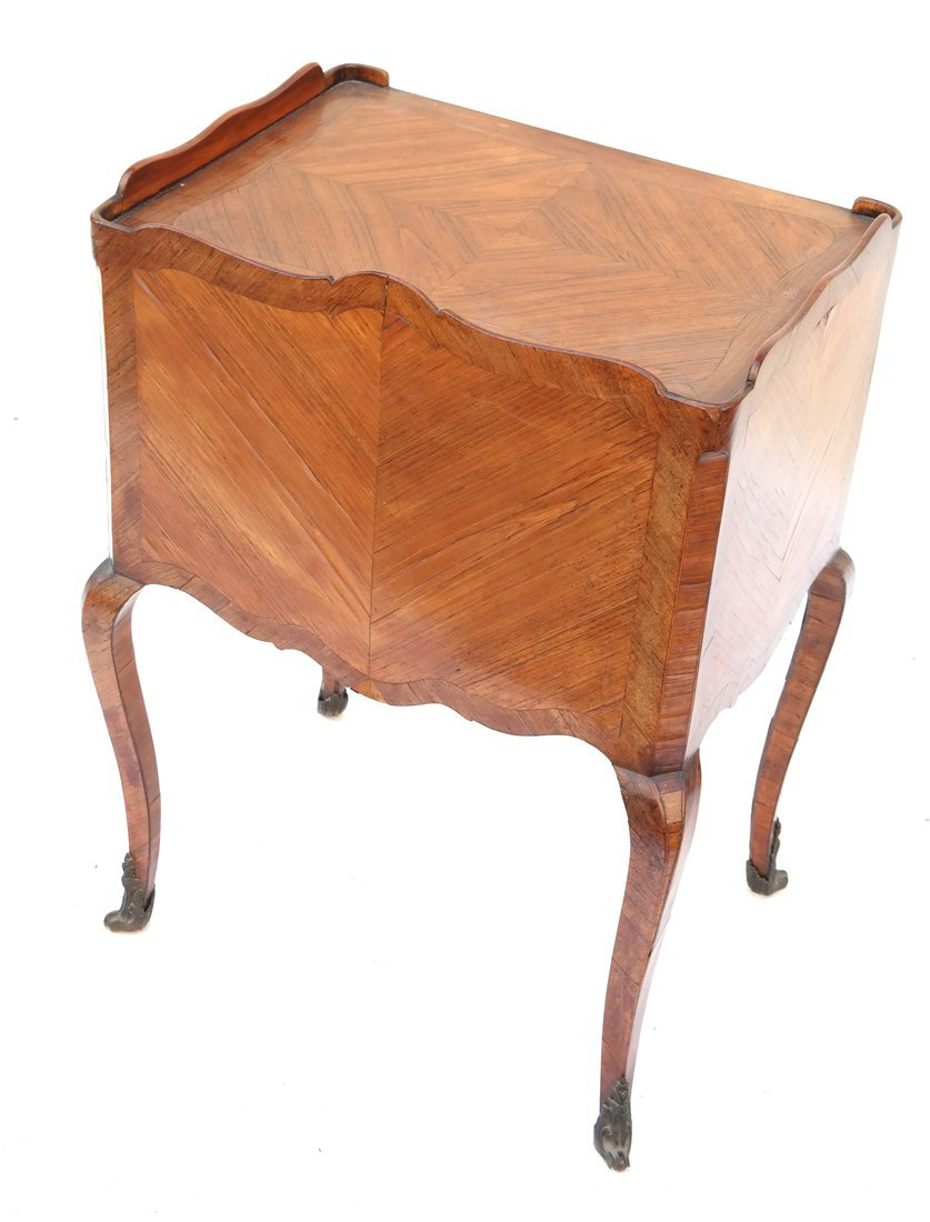 Louis XV-Style Three-Drawer Stand - 9