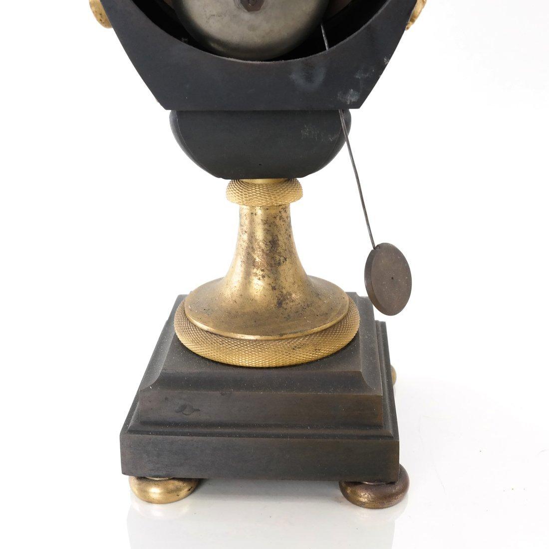 French Empire Bronze Dore Clock - 6