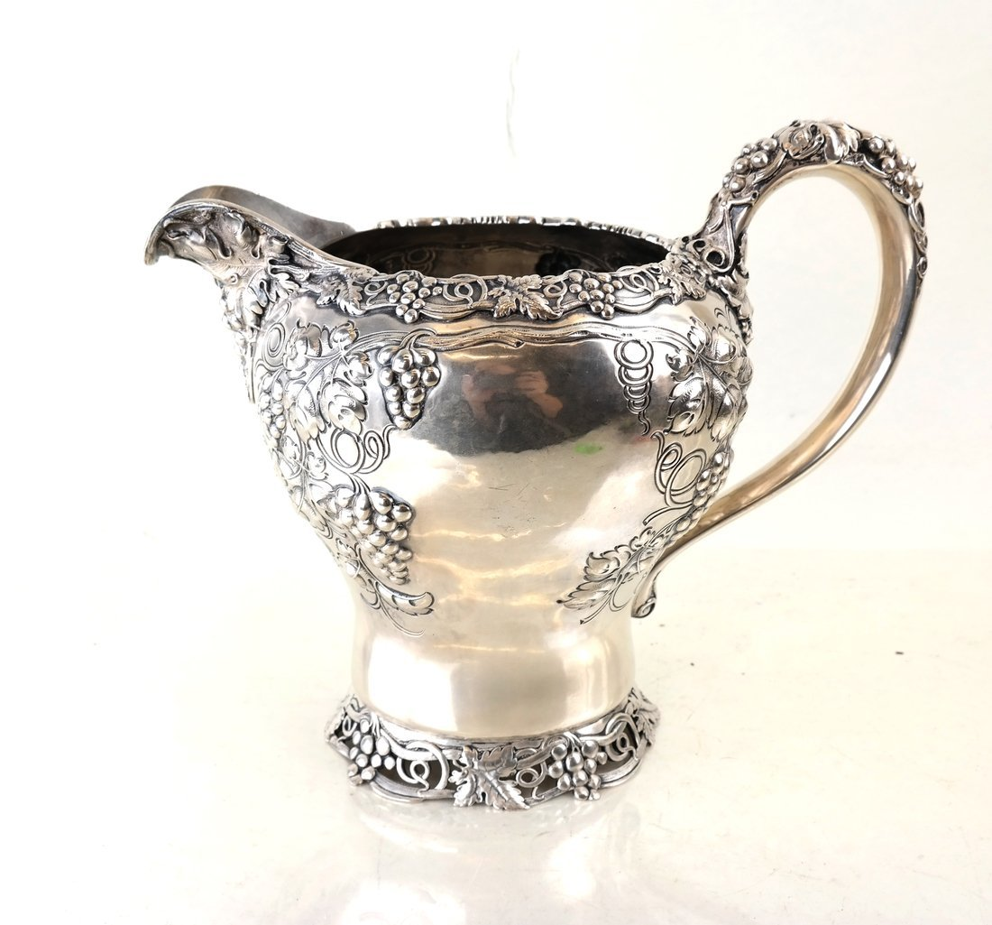 American Sterling Water Pitcher - 2