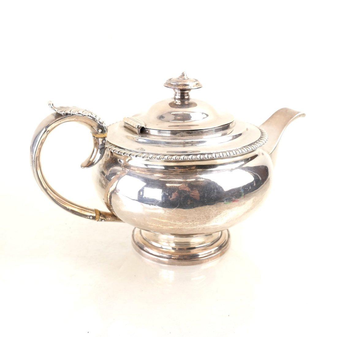 George IV Sterling Teapot