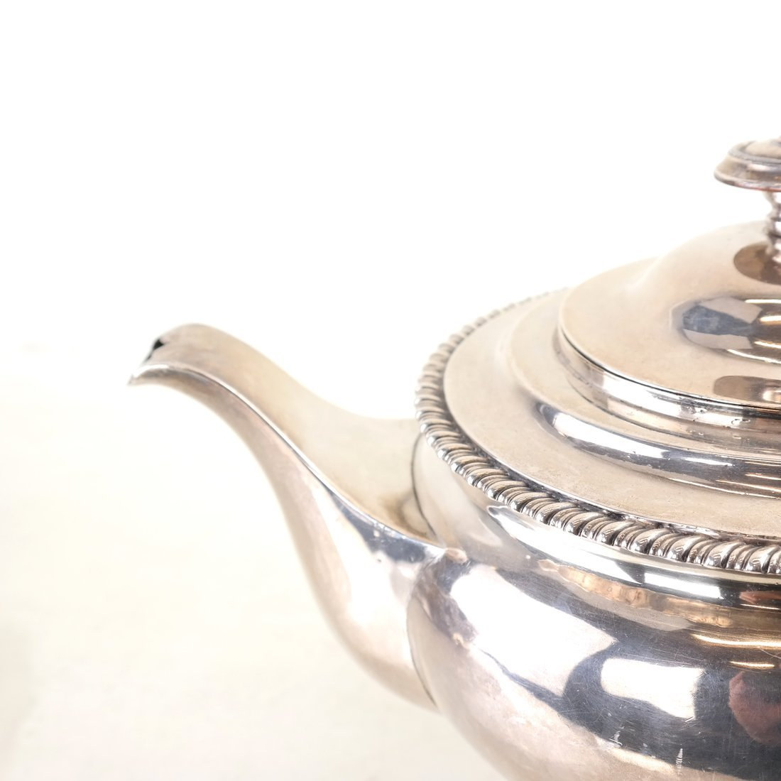 George IV Sterling Teapot - 3
