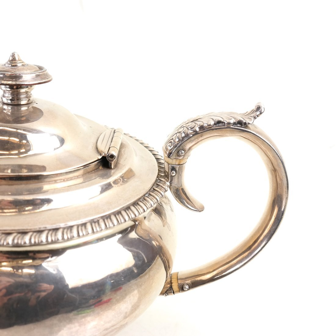 George IV Sterling Teapot - 4