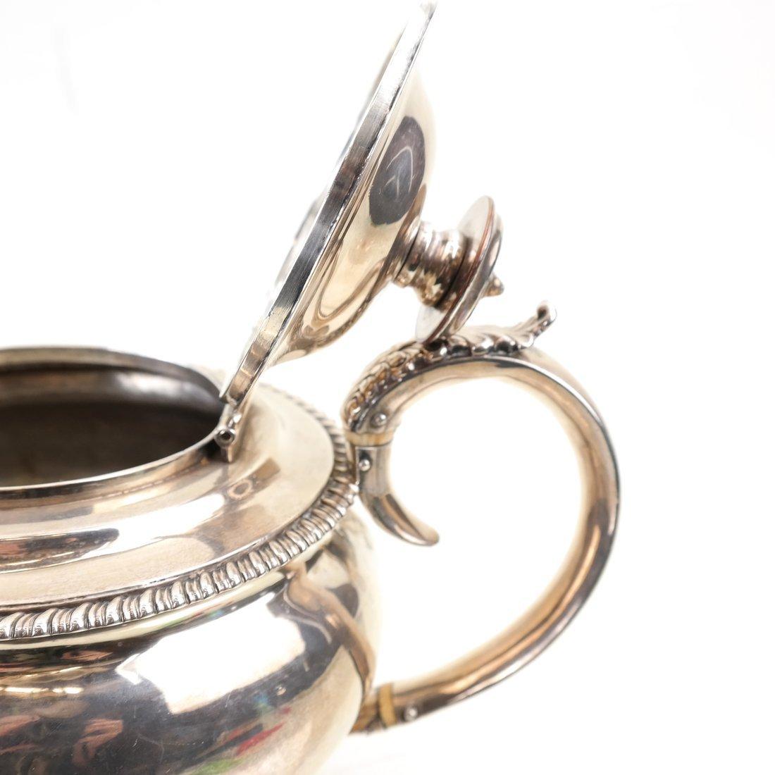 George IV Sterling Teapot - 9