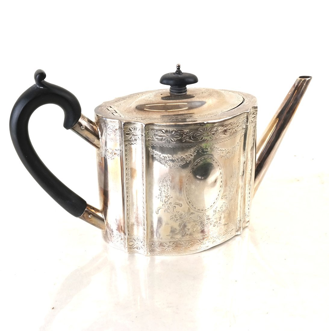 George III Sterling Teapot