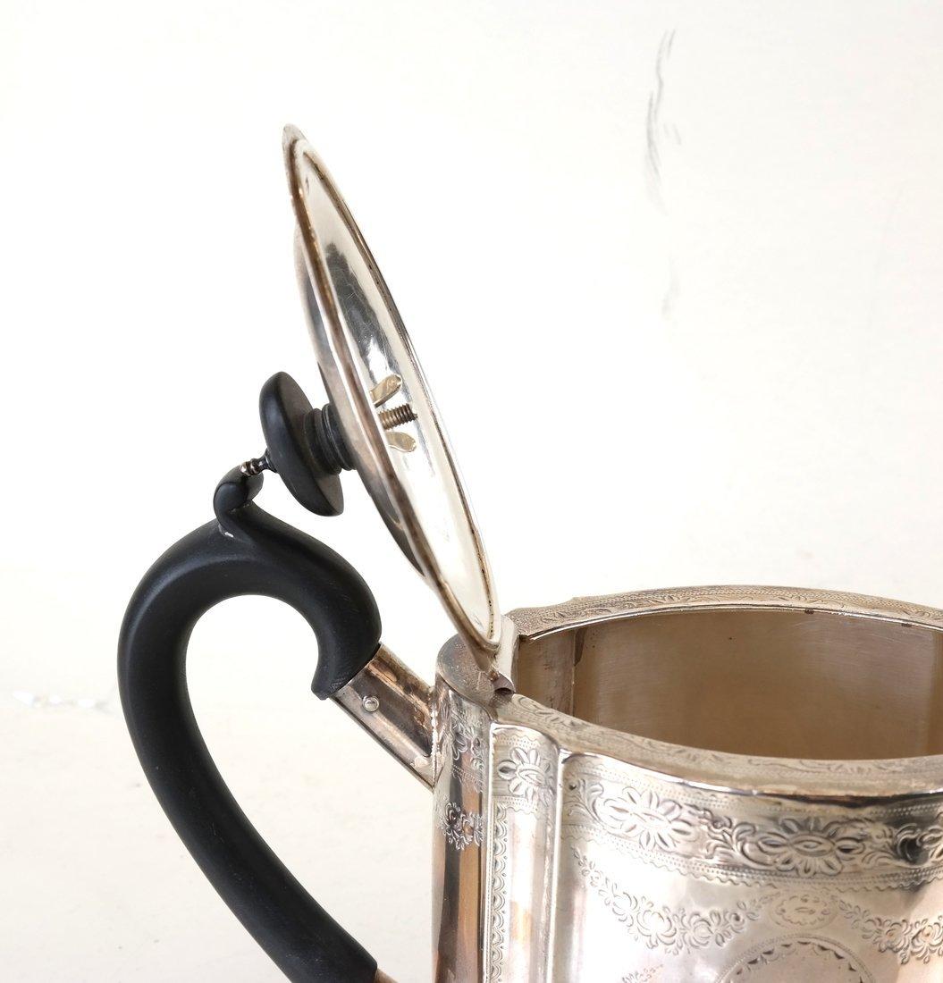 George III Sterling Teapot - 2