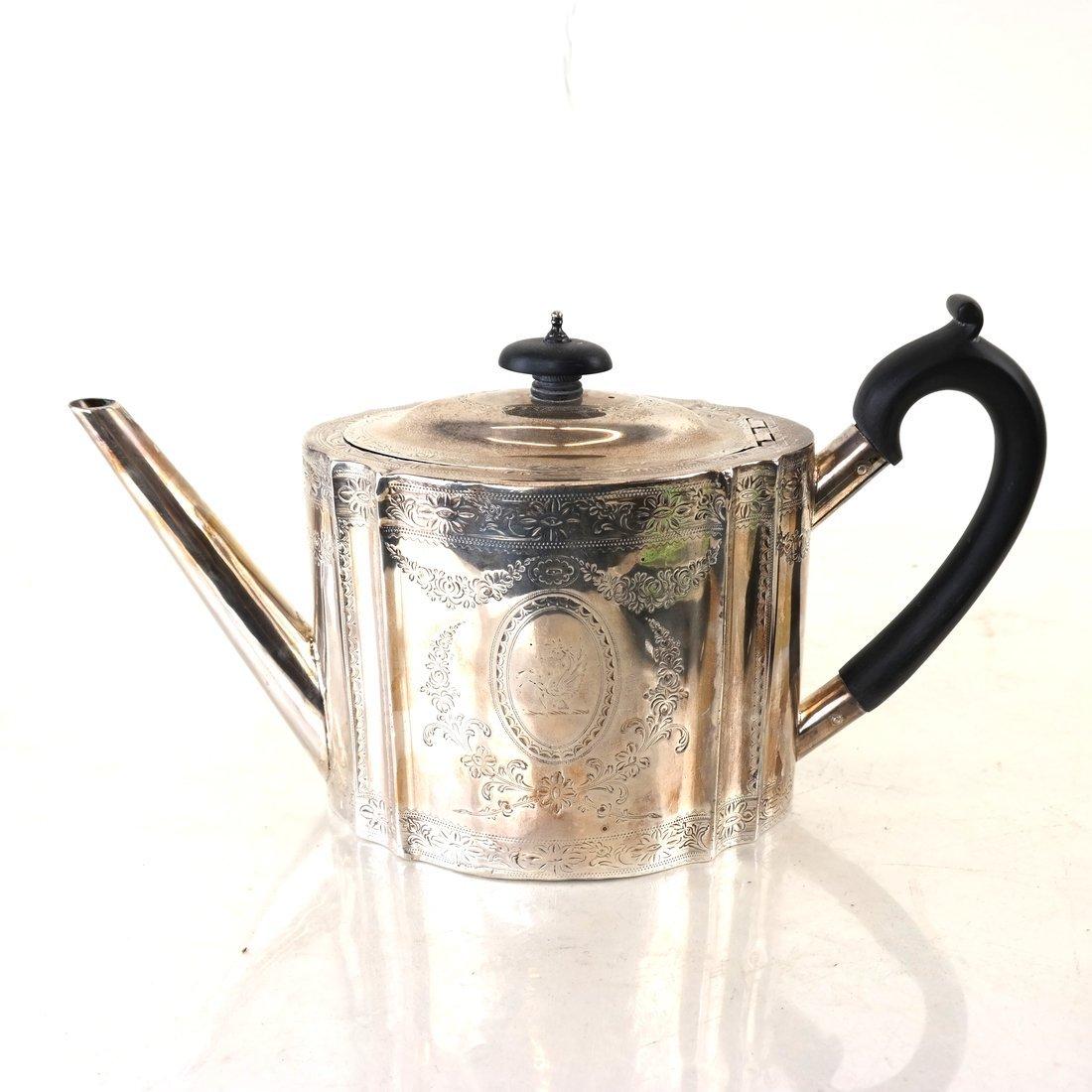 George III Sterling Teapot - 4